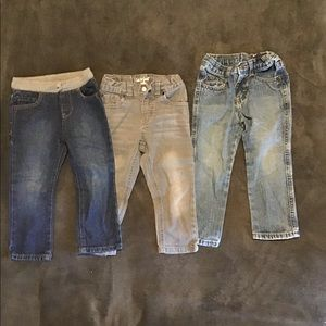 Baby jeans set of 3